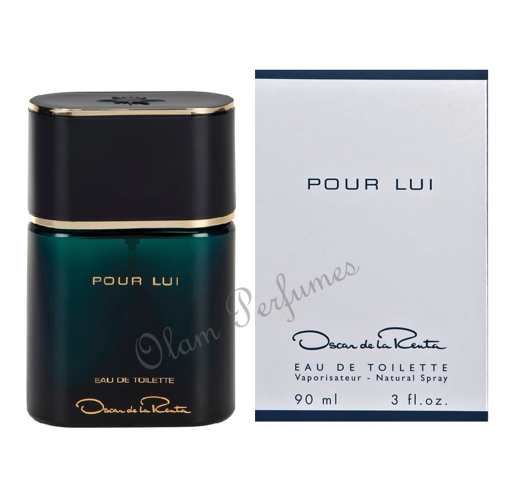 Pour Lui For Men by Oscar de la Renta Eau de Toilette Spray 3.0o