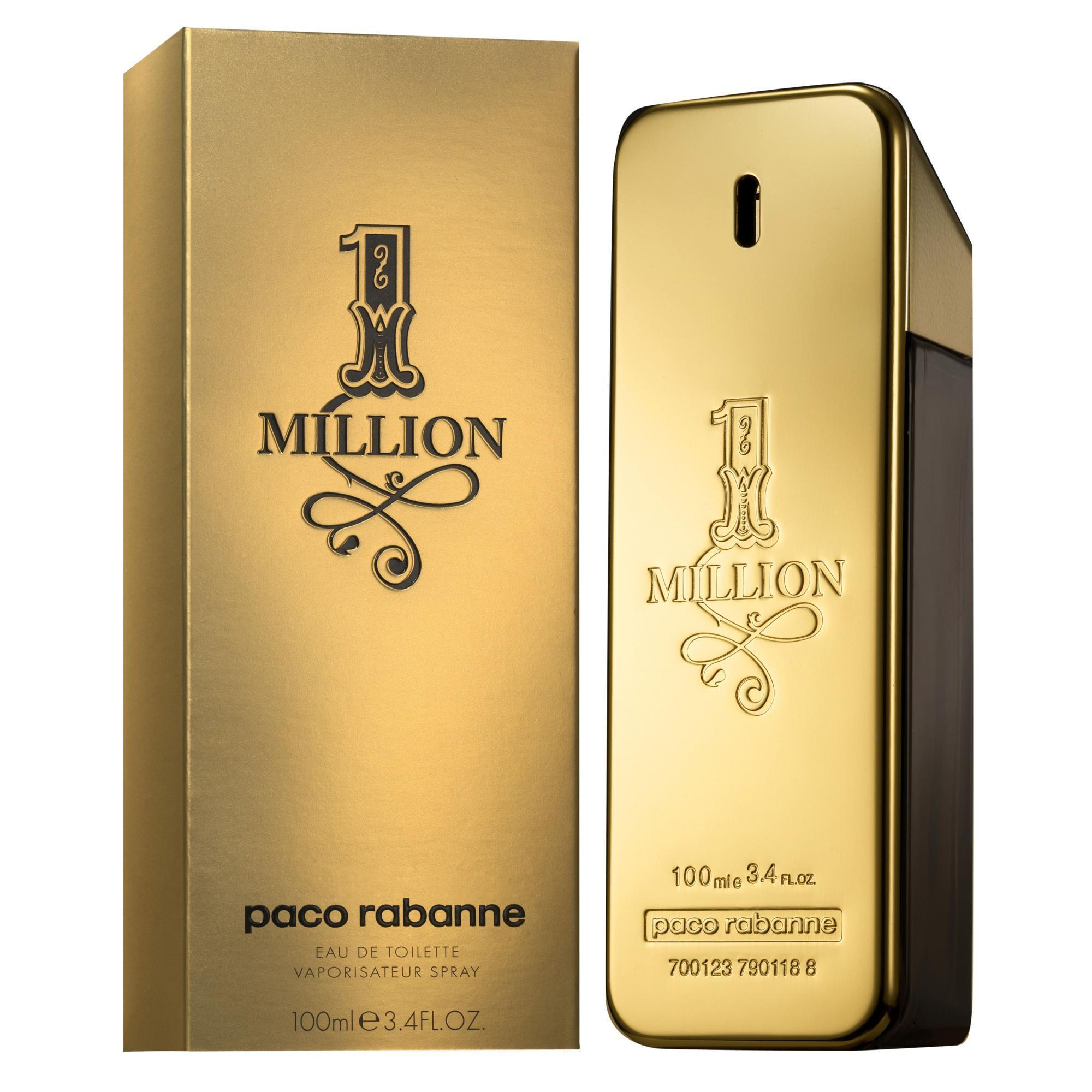 1 Million For Men Eau De Toilette Spray 6.7oz 200ml