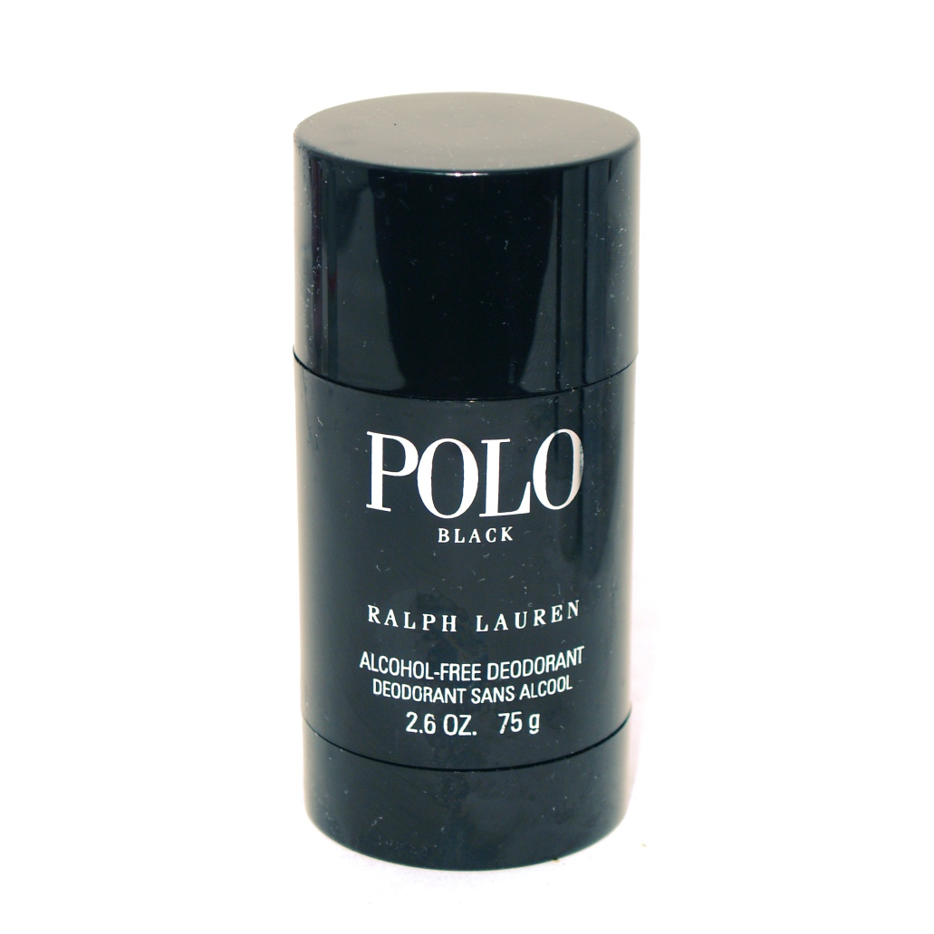 Ralph Lauren Polo Black Alcohol Free Deodorant Stick 2.6oz 75g