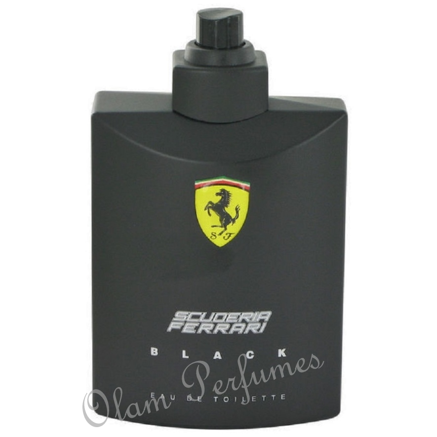 Scuderia Ferrari Black Eau De Toilette Spray Tester 4.2oz 125ml
