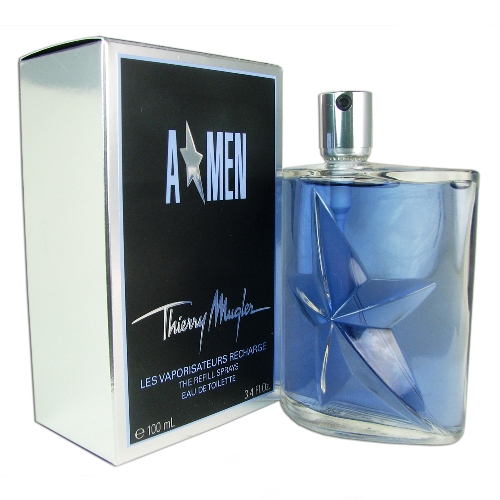 "Angel Men ""A Men\"" Refill Eau de Toilette Spray 3.4oz 100ml"