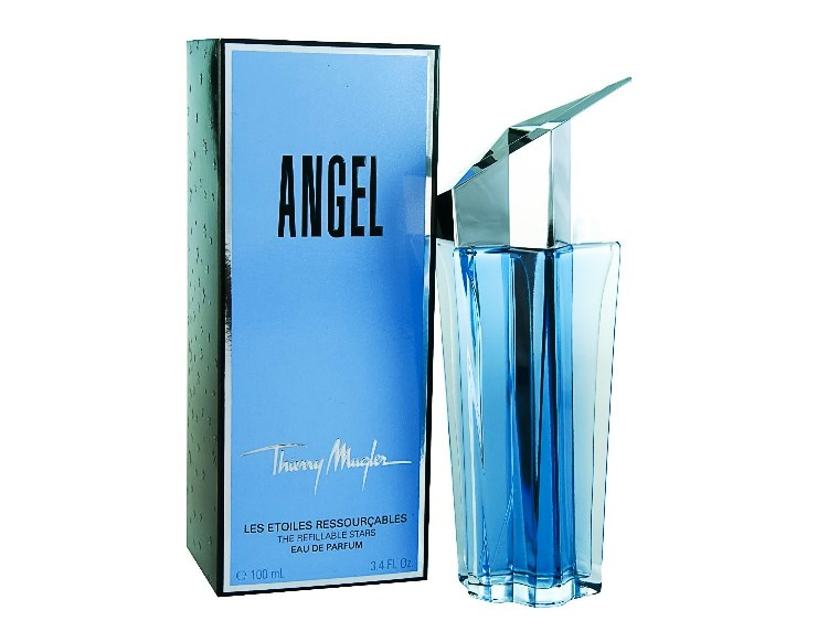 Angel For Women Eau de Parfum Spray Refillable 3.4oz 100ml