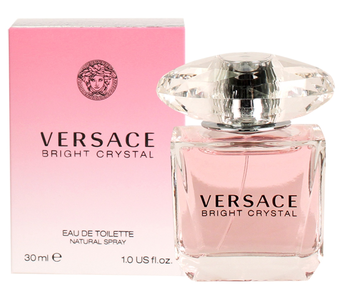 Versace Bright Crystal Eau de Toilette Spray 1.0oz 30ml