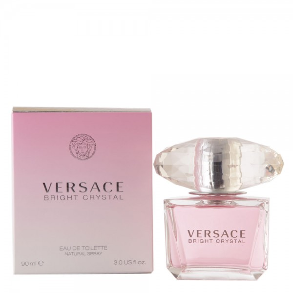 Versace Bright Crystal Eau de Toilette Spray 3.0oz 90ml