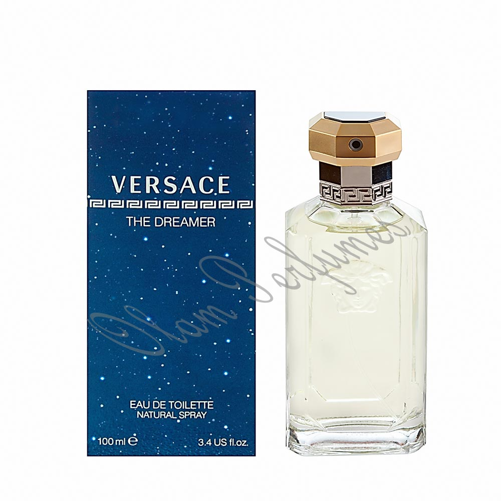 Versace Dreamer Eau de Toilette Spray 3.4oz 100ml