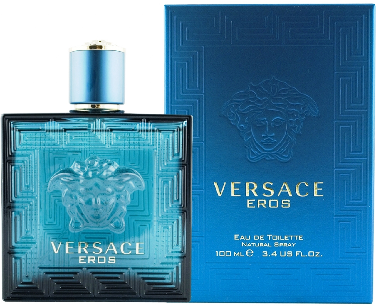 Versace Eros Eau de Toilette Spray 3.4oz 100ml