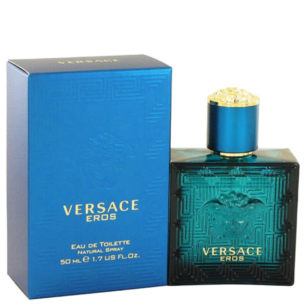 Versace Eros Eau de Toilette Spray 1.7oz 50ml