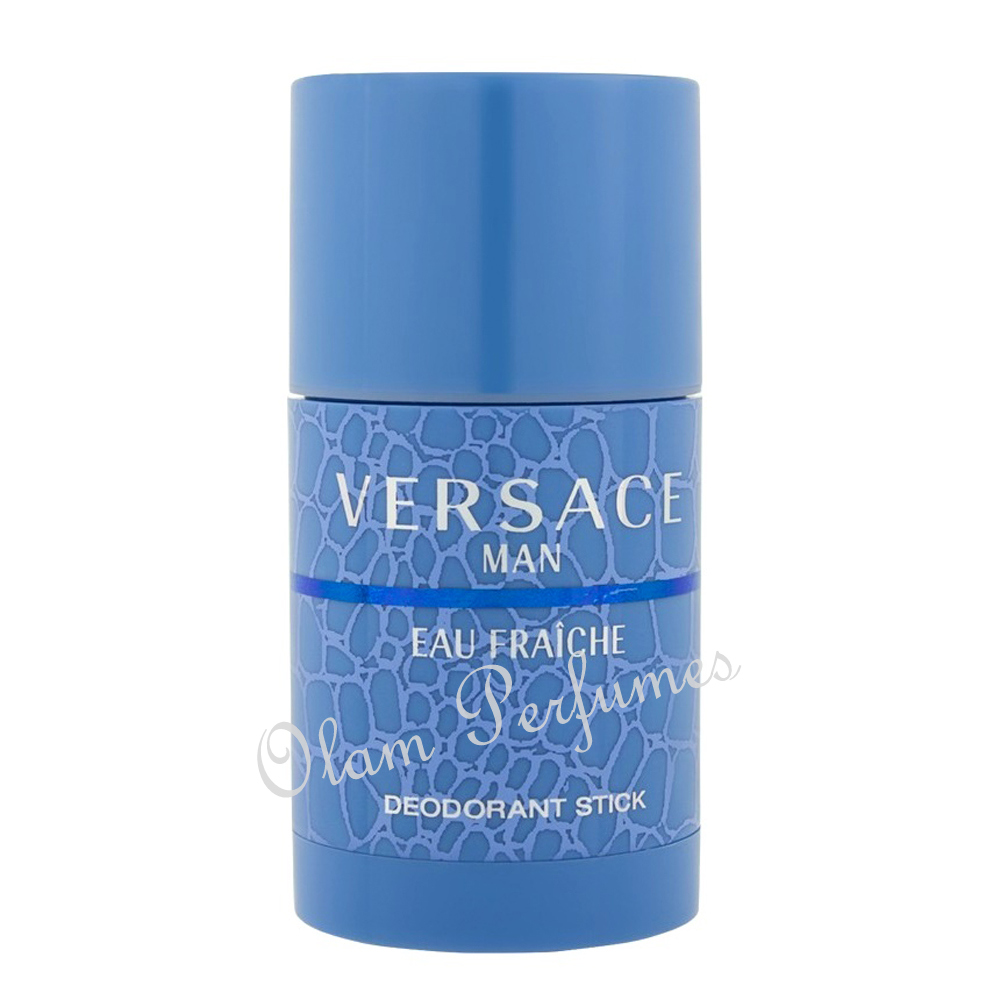 Versace Man Eau Fraiche Deodorant Stick For Men 2.5oz 75ml