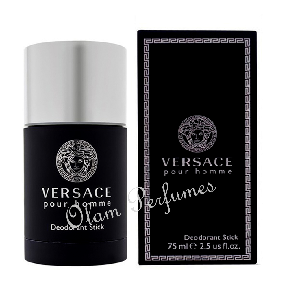Versace Pour Homme Deodorant Stick 2.5oz 75ml * New in Box