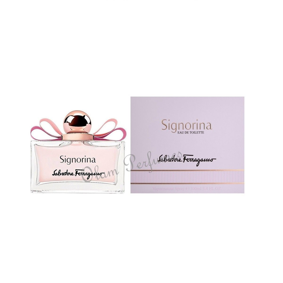 Ferragamo Signorina Eau de Toilette Spray 3.4oz 100ml
